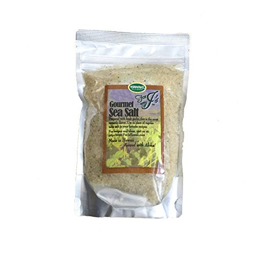 Sea Salt Garlic Flavor, For J'S Hawaii 7 Oz.