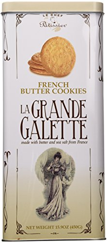 La Grande Galette French Butter Cookies 15.9 Oz