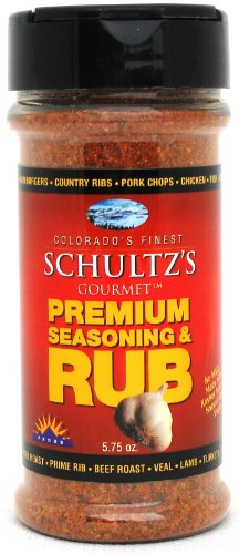 Schultz'S Gourmet Premium Seasoning & Rub -- 5.75 Oz