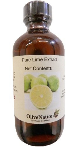 Pure Lime Extract 16 Oz.By Olivenation