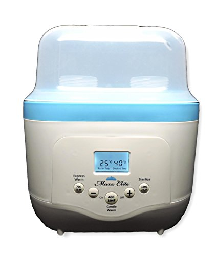 Gen2 Maxxdouble Digital Double Bottle Warmer & Sterilizer (Beautiful Blue)