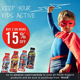 Roar Kids | All Natural Hydration Drink For Children - Healthy Pure Sports Beverage | No Artificial Colors Or Flavors, Gluten-Free, Low Sugar, Low Calorie | Spiderman Fruit Punch |