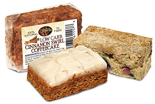 Simply Scrumptous Fat Free Carrot Cake And Low Carb Cinnamon Coffee Cake