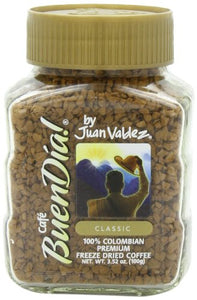 Buendia By Juan Valdez Classic 100% Colombian Freeze Dried  Coffee,  3.52 Oz.