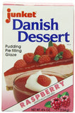 Junket Danish Dessert Raspberry, 4.75-Ounce