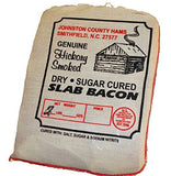 Hickory Smoked Dry Sugar Cured Slab Bacon 2 Lb With 4-3 Oz Pkgs Of Ham Biscuit Cuts Combo