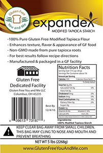 Expandex Modified Tapioca Starch Gluten Free (5 Lb) By Gluten Free You And Me Llc