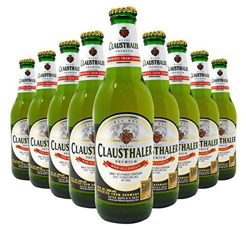 Clausthaler Premium Non-Alcoholic Beer, 12-Oz Glass Bottles