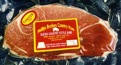 North Carolina Country Ham Center Cuts 3-1 Lb Pkgs.