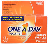 One A Day Women'S Multivitamin, 100 Count