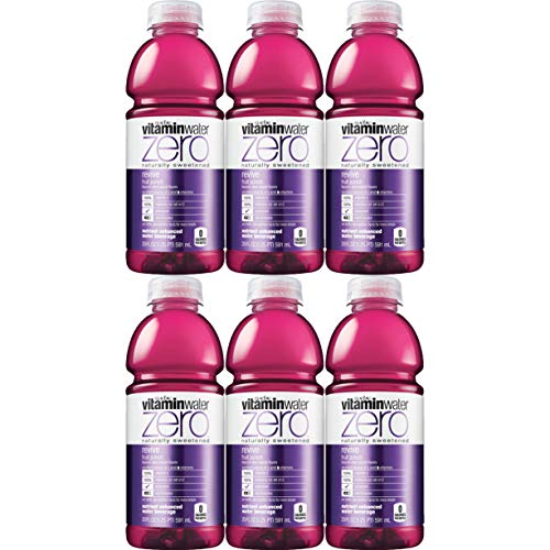 Vitamin Water-Zero, Fruit Punch - Revive, 20Oz Bottle (Total Of 120 Oz)