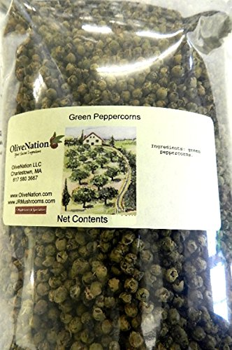 Olivenation Green Peppercorns 16 Oz