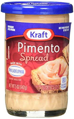 Kraft Cheese Spread, Pimento, 5-Ounce