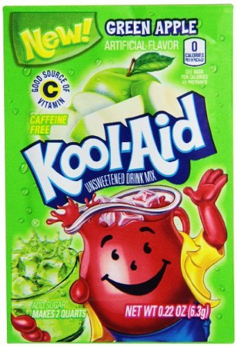 Green Apple Kool Aid Powdered Drink Mix