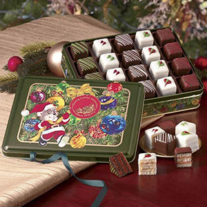 Christmas Petits Fours Tin, Single From The Swiss Colony