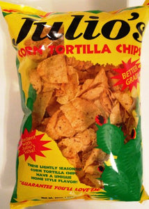Julio'S Seasoned Corn Tortilla Chips - 20 Oz