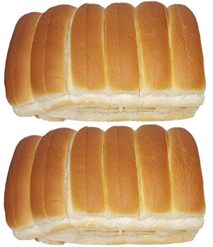 New England Split-Top Frankfurter Hot Dog Bun Or Lobster Rolls - 12 Or 24 Count