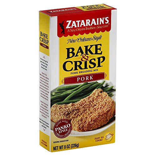 Zatarains Breading Pork Bake&Crsp