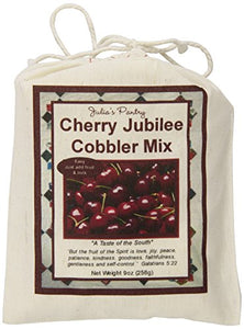Julia'S Pantry Cobbler Mix, Cherry Jubilee, 9 Ounce
