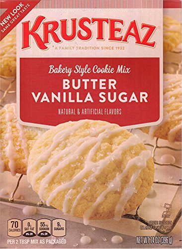 Krusteaz Bakery Style Cookie Mix, Butter Vanilla Sugar, 2