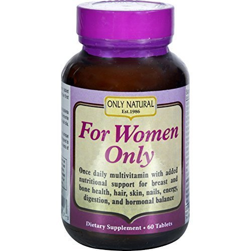 Only Natural For Women Only Tabs 60 Tab