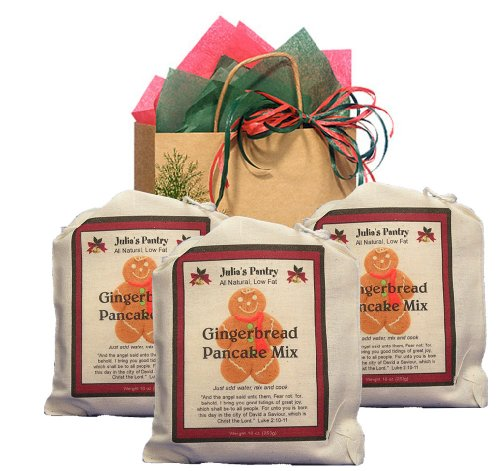 Gingerbread Pancake Lovers Gift Bag