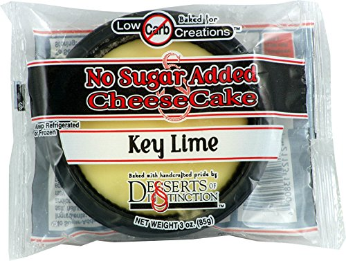 Dessert Of Distinction Sugar Free Cheesecakes (Key Lime, 10 Pack)