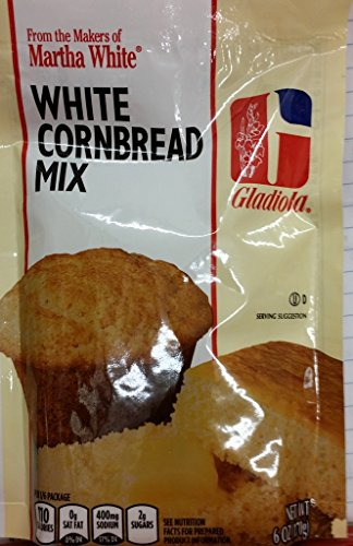 Gladiola Martha White White Cornbread Mix 6 Oz