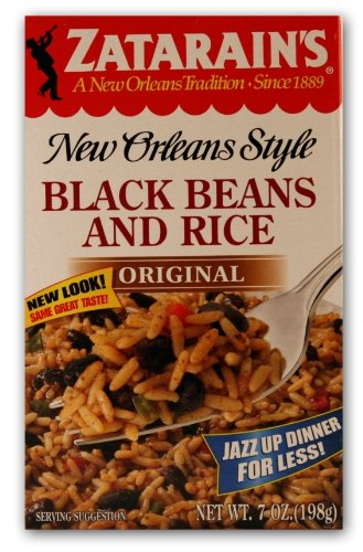 Zatarain'S Black Beans And Rice Mix