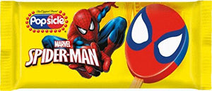 Popsicle Spiderman Bar, 3.38 Oz. Bar (18 Count)
