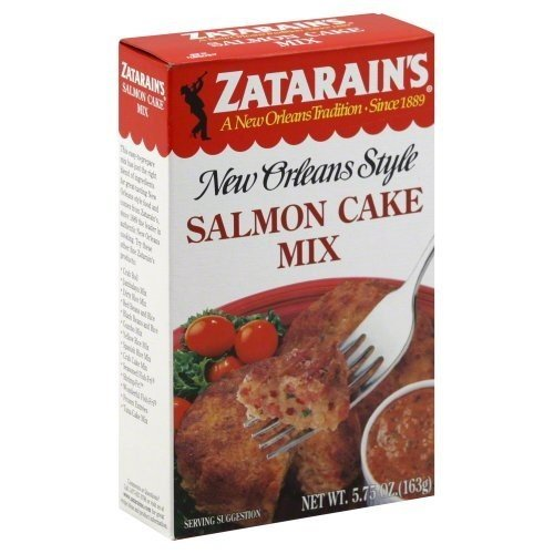 Zatarains Mix Cake Salmon