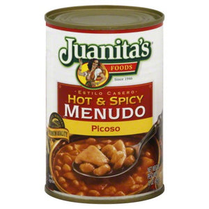 Juanita'S Hot And Spicy Menudo Picoso, 15 Ounce