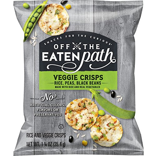 Off The Eaten Path Veggie Crisps, 1.25 Ounce Bags (16 Count)