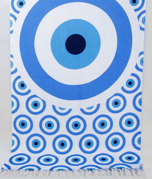 Evil Eye Beach Towel and Pareo