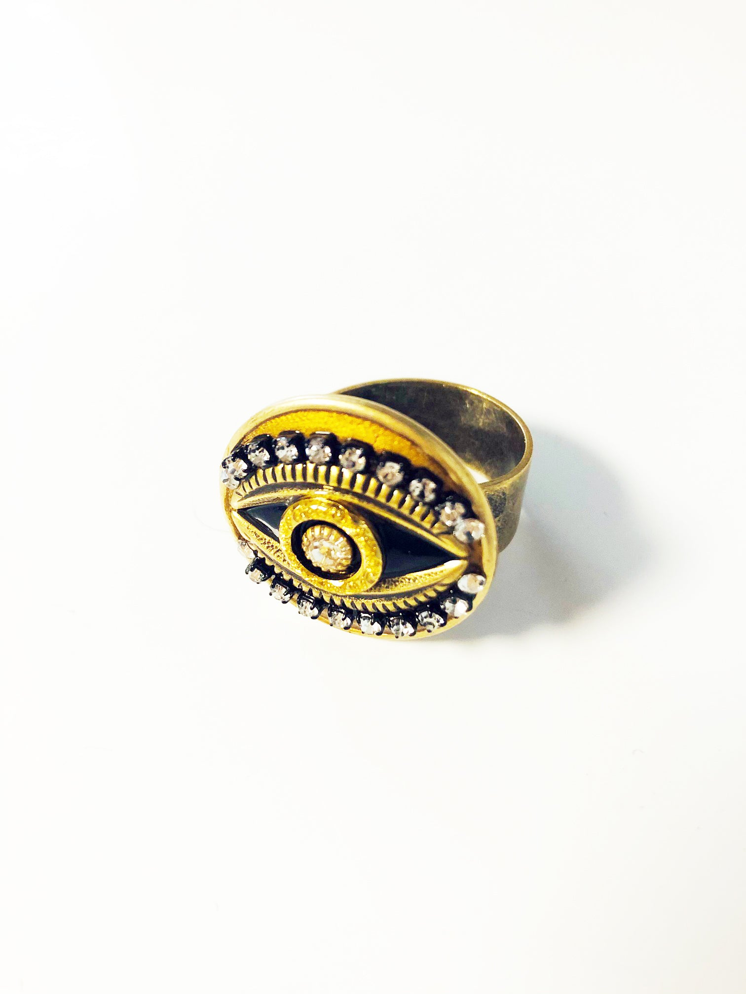 Byzantine Beauty Evil Eye Ring