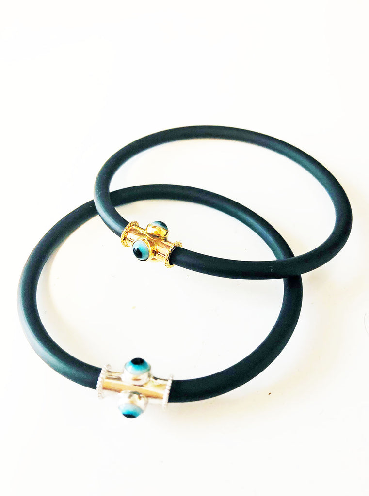 Traditional Mati Rubber Bracelet