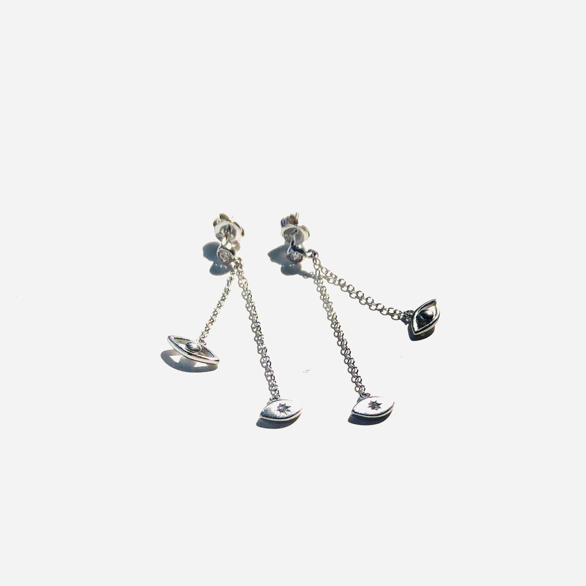 Mati Dangle Earrings