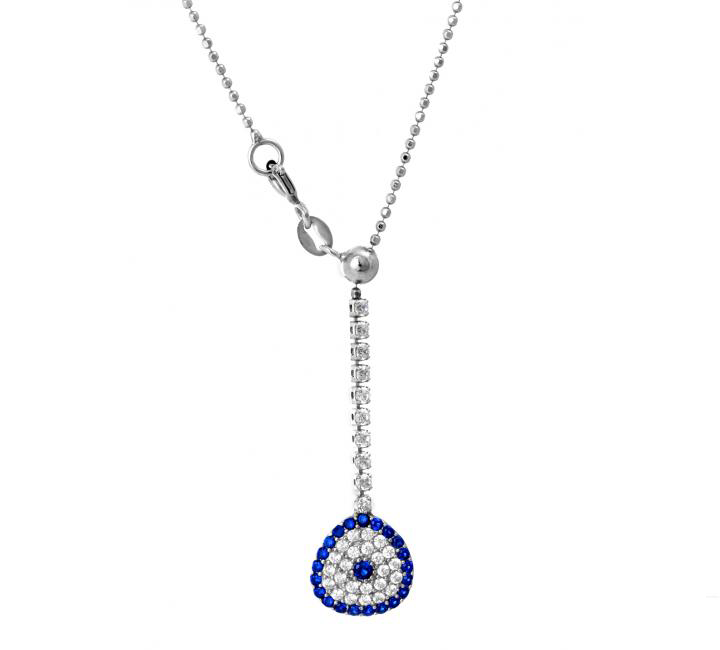 Goddess-Eye Toggle Necklace