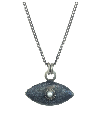 Micro Grey Mati Necklace