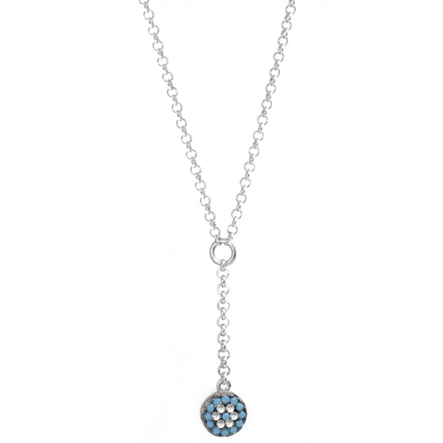"Turquoise Eye ""Y"" Necklace"