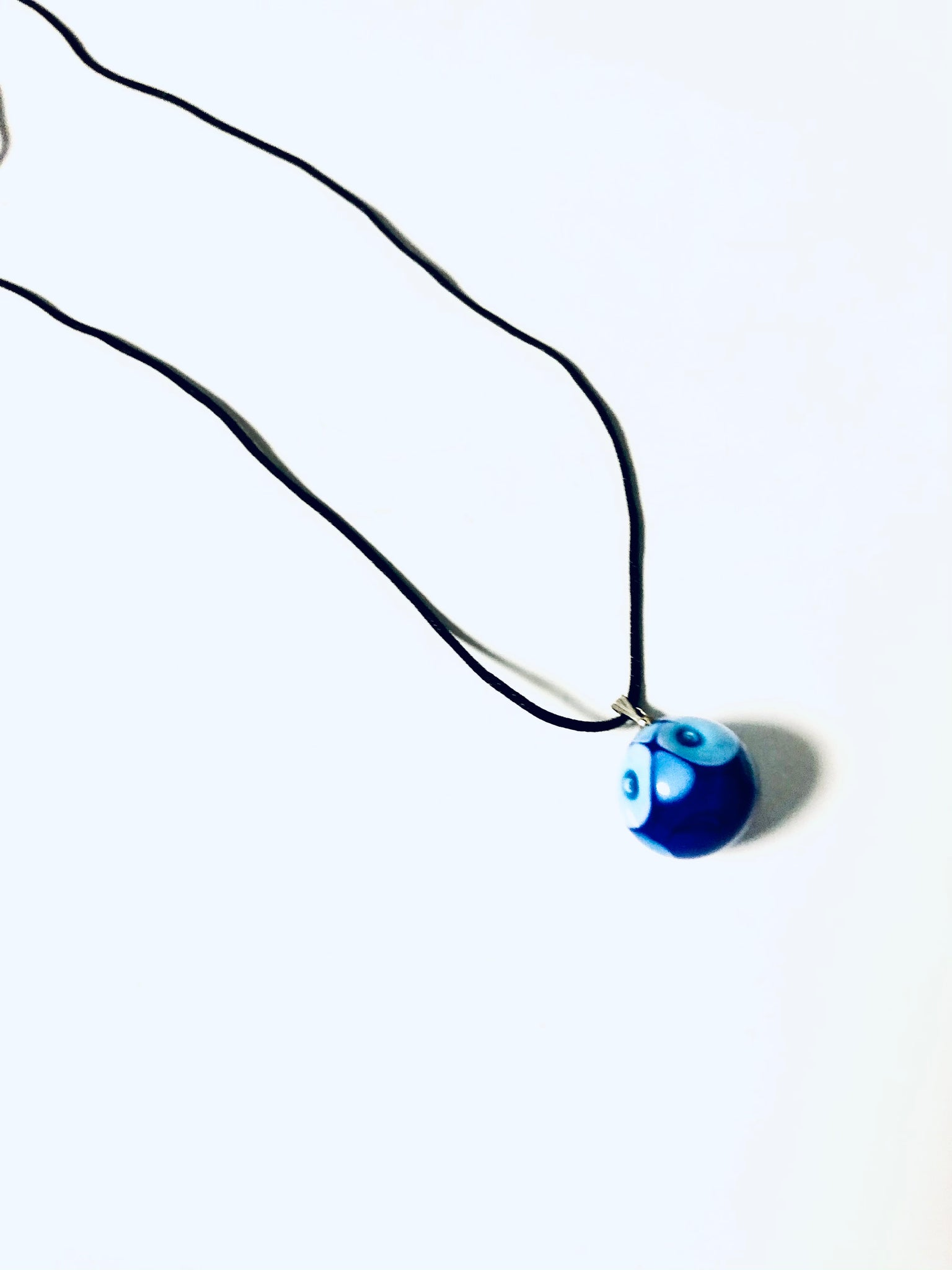 Glass Mati necklace