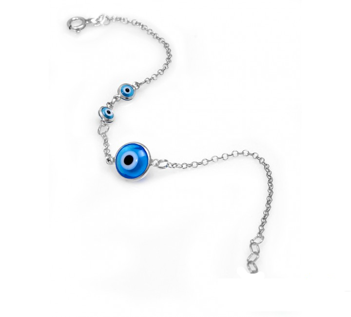 Greek Mati and Matakia Eye Bracelet
