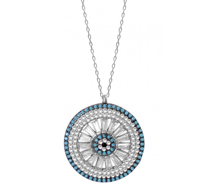 Goddess Medallion Mati Necklace