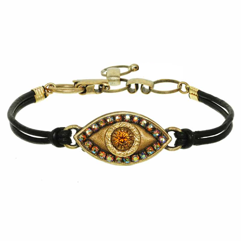 Statement eye bracelet