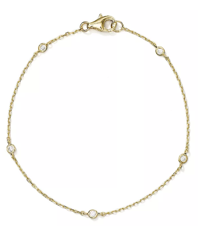 Golden Diamond Dream Bracelet