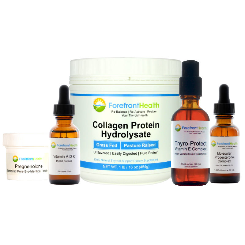 Calming Thyroid Supplement Bundle