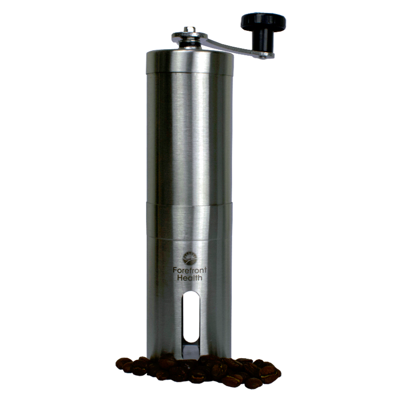 Thyro-Boost Manual Burr Coffee Grinder