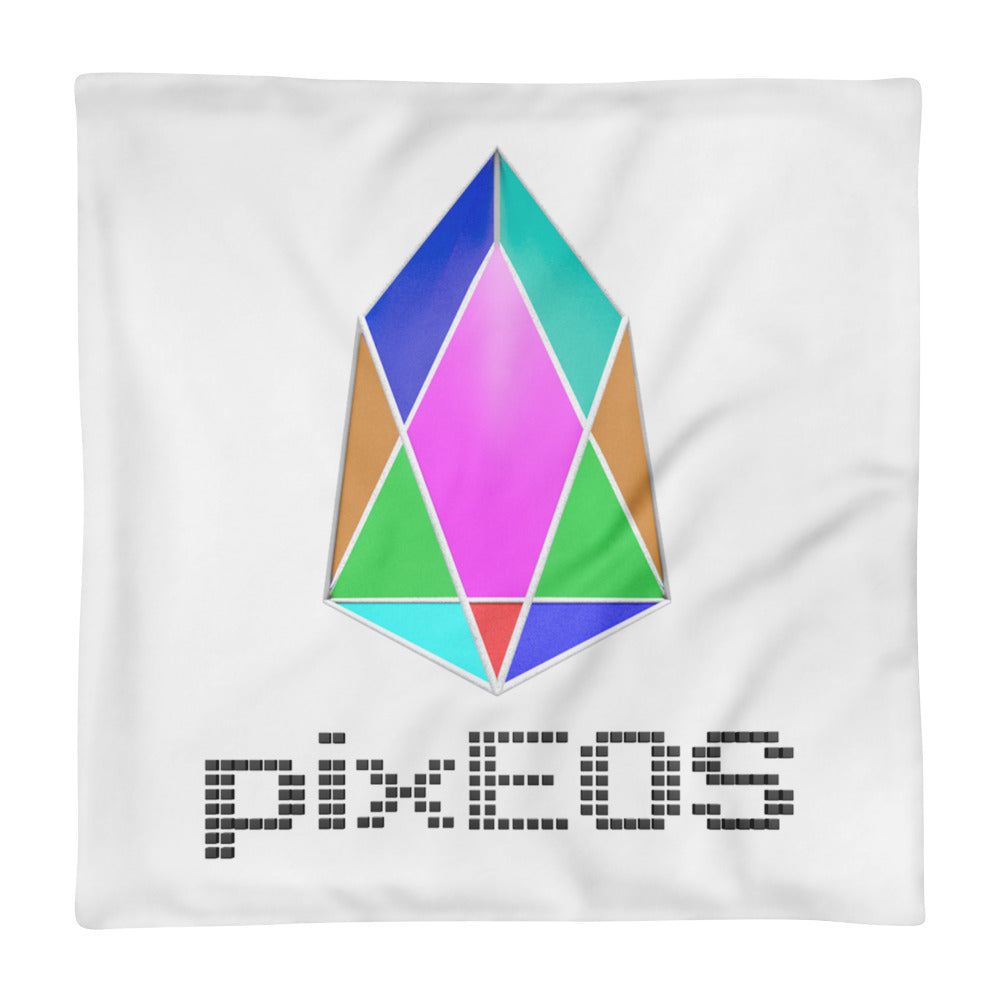PIX - pixEOS logo 3D 2 - *Pillow Case only*