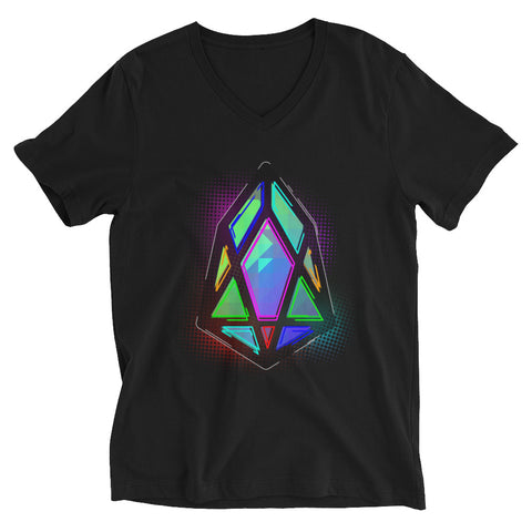 Image of FY - pixEOS Hub - *Women's V-Neck T-Shirt*