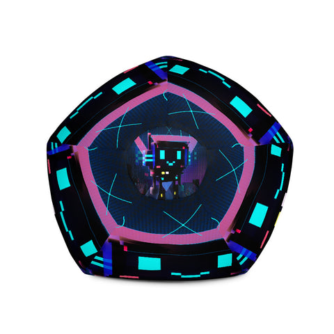 Image of FY - Cyberpunk Voxie 2 - *Bean Bag Chair w/ filling*